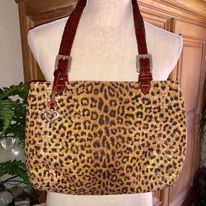 Brighton Leopard print bag